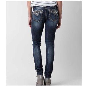 Miss Me Signature Skinny Jean Size 26